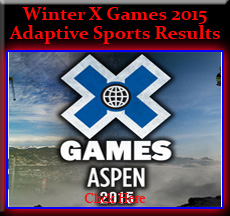 Winter X Games 2015 Results